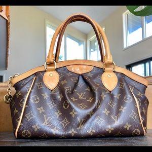 Louis Vuitton Tivoli Pm Monogram Leather Tote